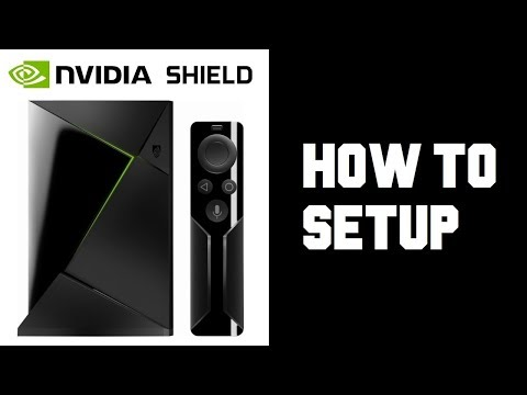 How To Set up Nvidia Shield TV - Nvidia Shield Setup - Android Manual Setup Wifi Setup Instructions