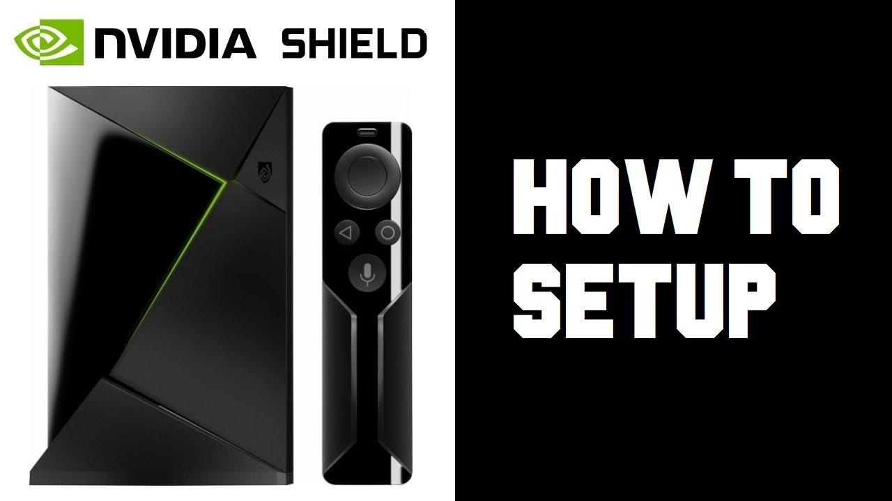 How To Set up Nvidia Shield TV - Nvidia Shield Setup - Android Manual Setup  Wifi Setup Instructions