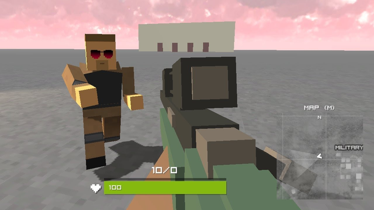 Pixel Battle Royale // Gameplay