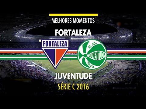 Melhores Momentos - Fortaleza 1 x 1 Juventude - Série C - 09/10/2016