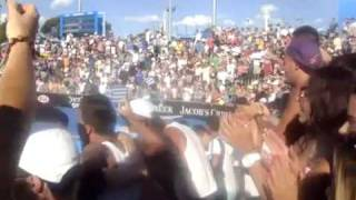 Marcos Baghdatis VS Becker Day 1 Australian Open 2012 Greek/Cypriot fans chanting