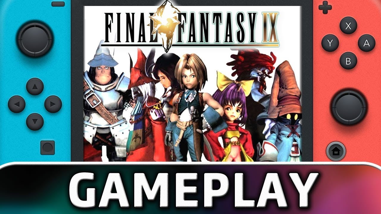 FINAL FANTASY IX | First 10 Minutes on Switch