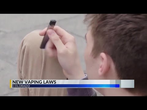 New Vaping Laws In Effect