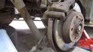 Временная починка закисшего ручного тормоза VW Sharan(, 2013-09-11T16:38:51.000Z)