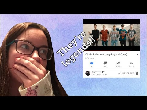 Reacting to Charlie Puth - How Long...