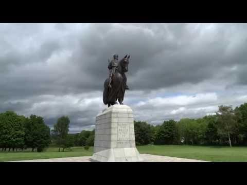 King Robert the Bruce Statue Bannockburn Scotland