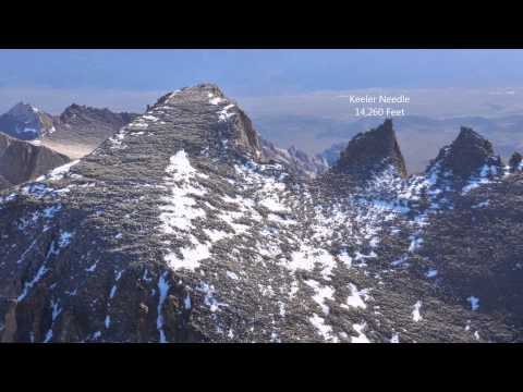 Mt Whitney Aerial Slideshow