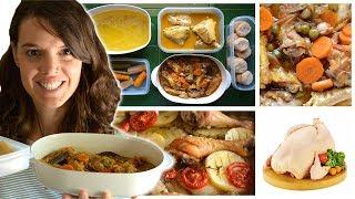 ¡5 recetas con UN solo POLLO! Cinco recetas FÁCILES de aprovechamiento | Las María Cocinillas