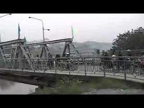 Bridge Over The Red River At Lao Cai