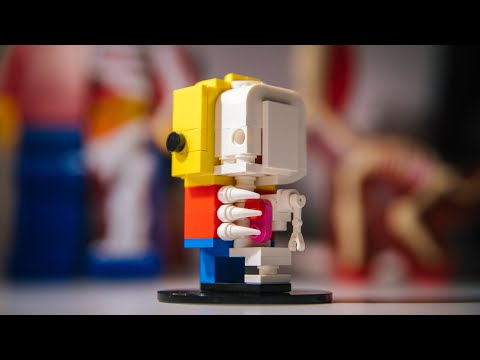 LEGO BrickHeadz Anatomy Custom Figure!