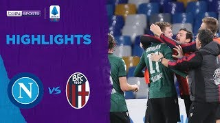 Napoli 1-2 Bologna | Serie A 19/20 Match Highlights