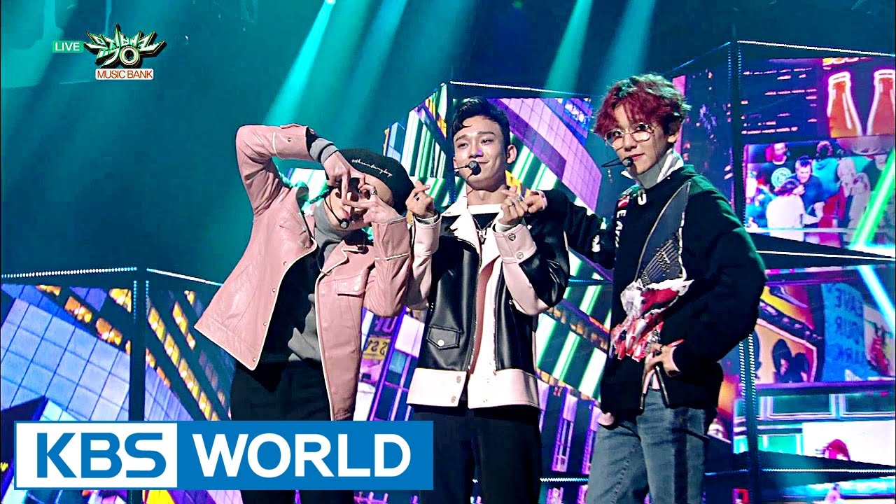 Exo Cbx The One Music Bank Comeback 2016 11 04 Youtube