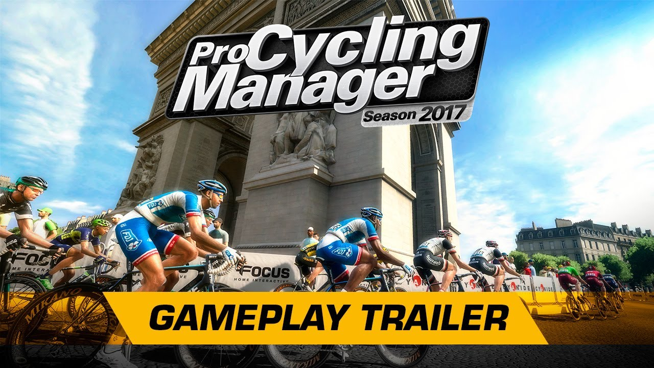 3fcf8fb03 Pro Cycling Manager 2017 - Gameplay Trailer (English) - YouTube