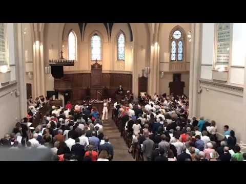 Culte des confirmations à au temple de l'Etoile à Paris