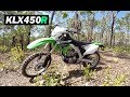 Kawasaki KLX450R - Time To Hit The Dirt