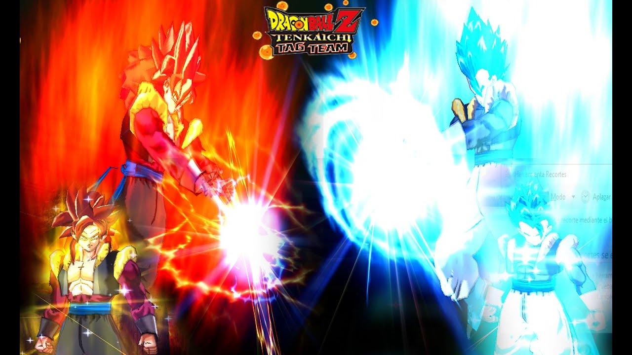 Gogeta Xeno SSJ4 Port BT3 VS Gogeta Capsule Corp SSGSS  | Dragon Ball Z Tenkaichi Tag Team MOD