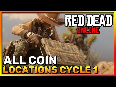 Red Dead Online Frontier Pursuits - All Coin Locations Cycle 1 - Madam Nazar - RDR2 Online