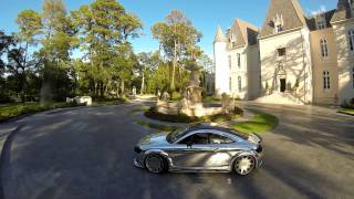 chrome wrapped audi tt on mrr wheels at chateau cocomar got 2 know