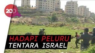 Aksi Heroik Pemuda Palestina
