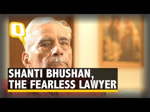 The lawyer who got Indira disbarred - The Quint