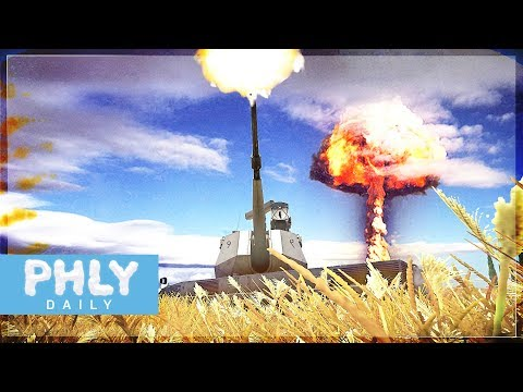 DESTROYER OF WORLDS | OTOMATIC 76mm Auto-Cannon (War Thunder 1.85 Gameplay)