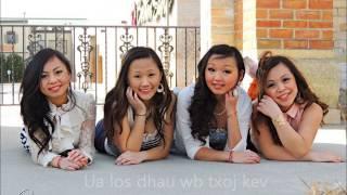 Repeat youtube video Nyob Ua Kev - Maa Vue (Instrumental + Lyrics)