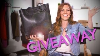 CLOSED GIVEAWAY - Alexander Wang Bag Worth Over $700! | Back to School Giveaway