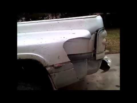 1994 chevy 3500 dually rear fender