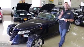 '01 Chrysler Prowler for sale with test drive, driving sounds, and walk through video