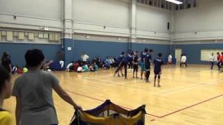 閃避球練習賽 賽小校友隊對Legend 第六場(二)