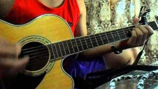 When I Look At You by Miley Cyrus (acoustic cover)