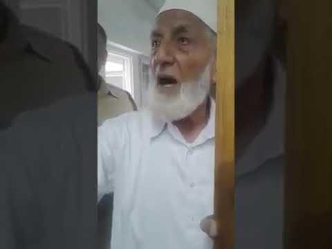 Syed Ali Shah Geelani Sahab Ka Noorani Chehra