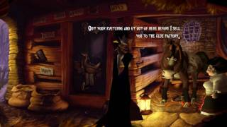 """A Vampyre Story"", full HD walkthrough, Part 28 - Get the horse, Dress shop"