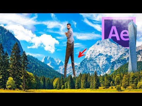 ВИДЕОМОНТАЖ ДЛИННЫЕ НОГИ 🏌 Разбор Эффектов в Adobe After Effects