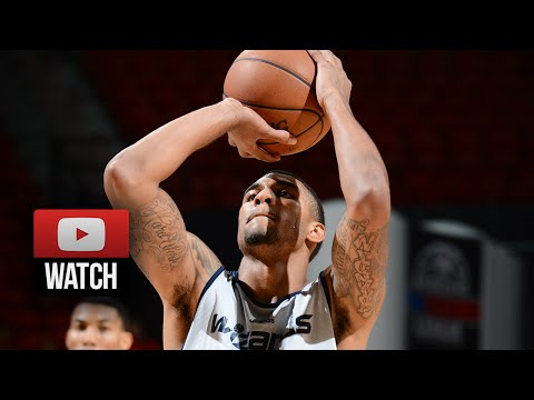 Glen Rice Jr. Full SL Highlights 2014.07.19 vs Spurs - 36 Pts, 11 Reb, SICK!
