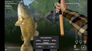 Fishing Planet North Carolina how to catch  all the Uniques v0.7.14