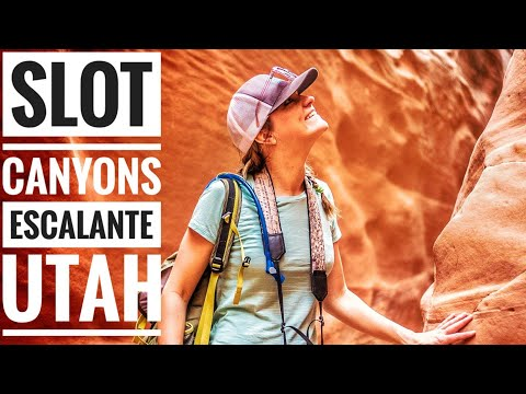Escalante Utah Slot Canyons