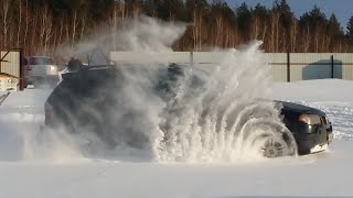 BMW x3 off road snow test e83