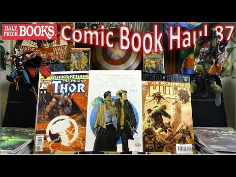 Half Price Books Comic Book Haul 87 | Planet Hulk Saga!