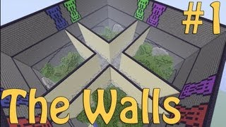 Minecraft Xbox - The Walls - W/Stampylongnose - PvP Survival Part 1