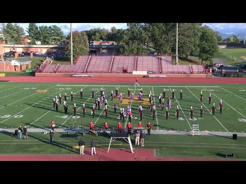 2018 HILLTOPPER INVITATIONAL: Cocke County High School Marching Band