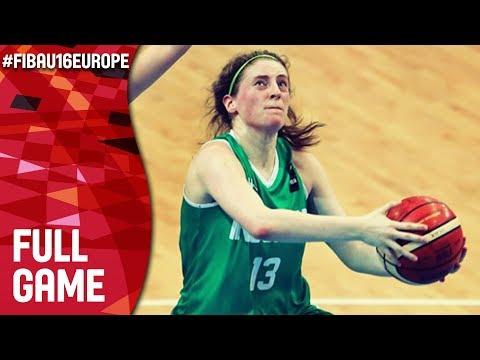 Estonia v Ireland - Full Game - Class 9-16 - FIBA U16 Women's European Championship 2017 - DIV B