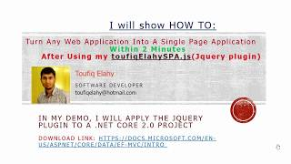 #1 Complete Step-by-step ASP.NET Core MVC Single-Page App Tutorial