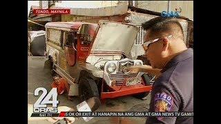 24 Oras: Jeep at kotseng nahatak kahapon, nahuli na naman ng MMDA ngayong araw