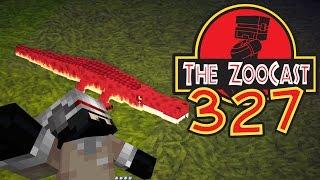 Minecraft Jurassic World (Jurassic Park) ZooCast - #327 Sarcosuchus and Deinosuchus Hatching!