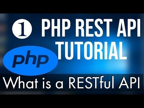 PHP REST API Tutorial (Step By Step)