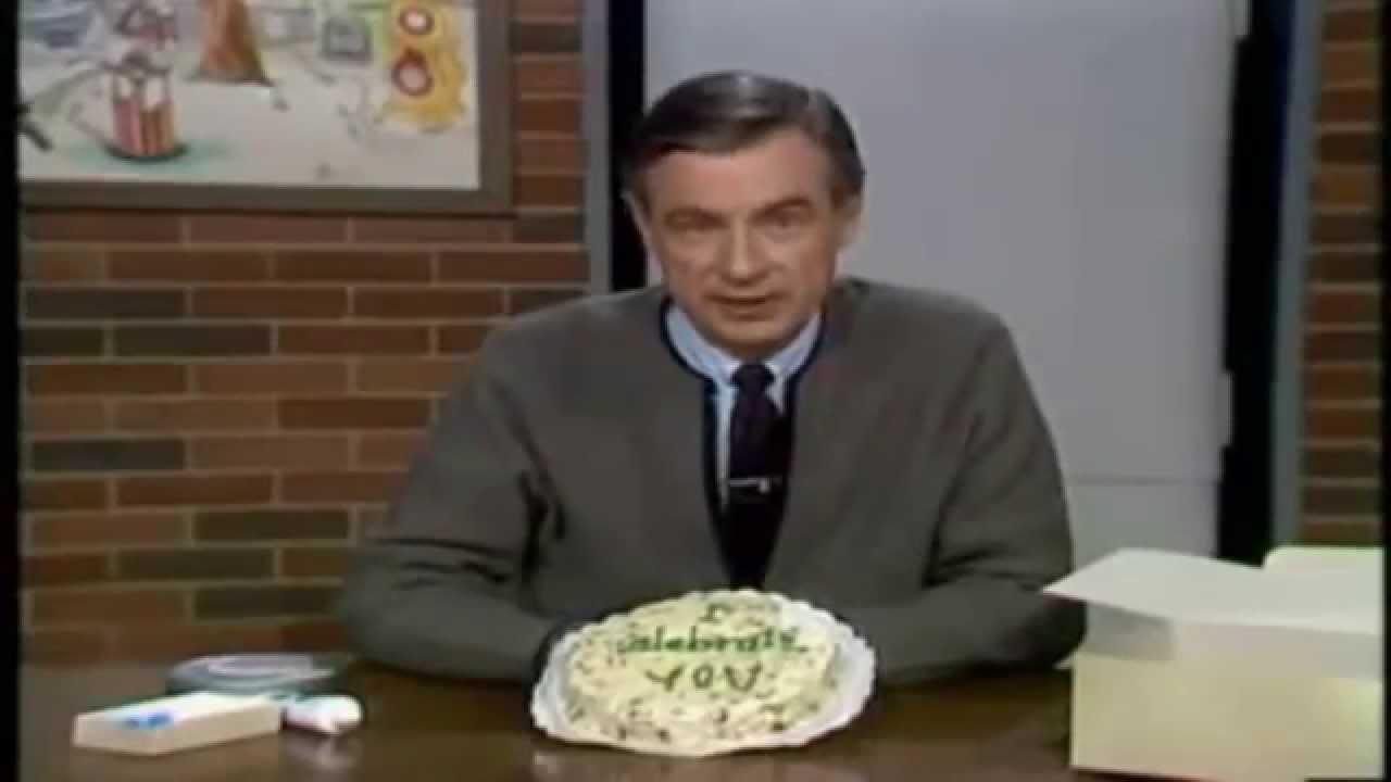 Mr Rogers Birthday Cake