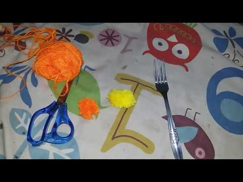 Cara membuat bulu-bulu gembull!! //mini pompom