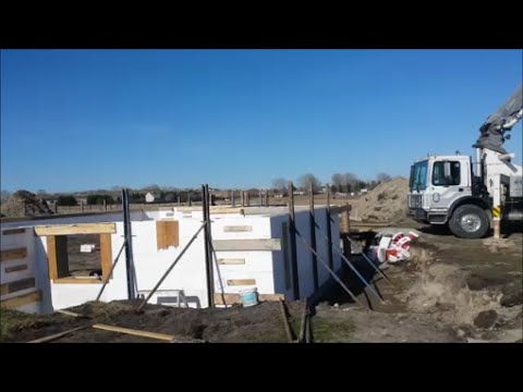 Building ICF Foundation for a Modular Home