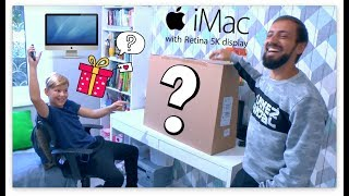 """ОБЗОР : ПАПА КУПИЛ СЫНУ САМЫЙ ДОРОГОЙ АЙМАК / Apple iMac 27"""" Retina 5K Core i5 2 ТБ Fusion Drive"""